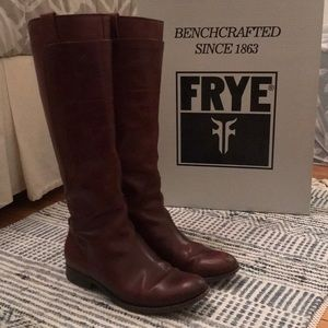 Size 10 Frye Melissa Tall Riding Boots